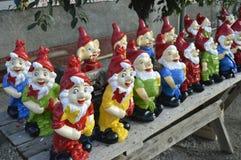 Hilarious dwarves . Stock Photo