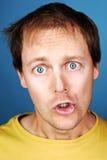 Hilarious face Stock Photography