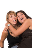 Hilarious laughter Royalty Free Stock Photo