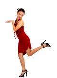 Hilarious woman Royalty Free Stock Photo