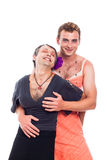 Hilarious transvestites Stock Photography