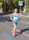 Hilary Dionne chez Berlin Marathon 2015 Images stock