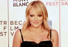 Hilary Duff lizenzfreie stockfotos