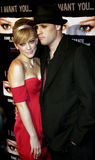 Hilary Duff und Benji Madden Lizenzfreies Stockfoto