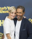 Hilary Quinlan and Bryant Gumbel Stock Images