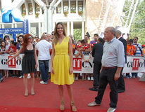Hilary Swank al Giffoni Film Festival 2011 stockfotos