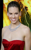 Hilary Swank. Attends the Los Angeles Premiere of The Reaping held at the Mann Village Theater in Westwood, CA on 03/29/07 stock photo