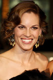 Hilary Swank. Attends the World Premiere of `P.S. I Love You` held at the Grauman`s Chinese Theater in Hollywood, California, United States on December 9, 2007 royalty free stock photos