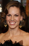 Hilary Swank. Attends the World Premiere of `P.S. I Love You` held at the Grauman`s Chinese Theater in Hollywood, California, United States on December 9, 2007 stock photography