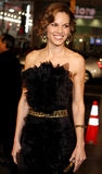 Hilary Swank. Attends the World Premiere of `P.S. I Love You` held at the Grauman`s Chinese Theater in Hollywood, California, United States on December 9, 2007 royalty free stock photo