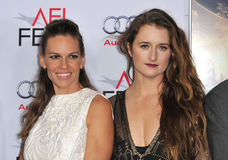 Hilary Swank & Grace Gummer Stock Image