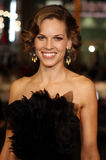 Hilary Swank. 12/9/2007 - Hollywood - Hilary Swank attends the World Premiere of `P.S. I Love You` held at the Grauman`s Chinese Theater in Hollywood, California royalty free stock images