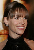 Hilary Swank. At the Los Angeles premiere of `Freedom Writers` held at the Mann Village Theatre in Westwood, USA on January 4, 2007 stock photos