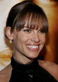 Hilary Swank. At the Los Angeles premiere of `Freedom Writers` held at the Mann Village Theatre in Westwood, USA on January 4, 2007 stock image