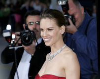 Hilary Swank. March 29, 2007. Hilary Swank attends the Los Angeles Premiere of The Reaping held at the Mann Village Theater in Westwood, California United States royalty free stock photos