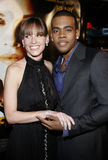 Hilary Swank and Mario. WESTWOOD, CALIFORNIA. Thursday January 4, 2007. Hilary Swank and Mario attend the Los Angeles of `Freedom Writers` held at the Mann royalty free stock photography