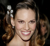 Hilary Swank. At the 2007 Paramount Pictures Golden Globe Award After-Party held at the Beverly Hilton Hotel in Beverly Hills, USA on January 15, 2007 royalty free stock image