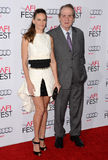 Hilary Swank and Tommy Lee Jones Stock Images