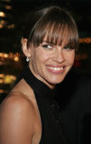 Hilary Swank. WESTWOOD, CALIFORNIA. Thursday January 4, 2007. Hilary Swank attends the Los Angeles of `Freedom Writers` held at the Mann Village Theater in stock image
