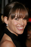 Hilary Swank. WESTWOOD, CALIFORNIA. Thursday January 4, 2007. Hilary Swank attends the Los Angeles of `Freedom Writers` held at the Mann Village Theater in stock images