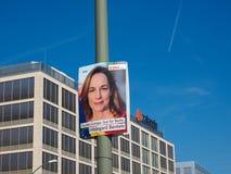 Hildegarde Bentele elected for the CDU Berlin in European Parlia. BERLIN, GERMANY - CIRCA JUNE 2019: Hildegarde Bentele elected for the CDU Berlin in European stock photo