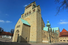 Hildesheim Cathedral. The medieval catholic cathedral of the Assumption of Mary in Hildesheim, Germany Royalty Free Stock Image