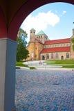 Hildesheim church Stock Photos