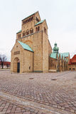 Hildesheim-Kathedrale Stockfoto