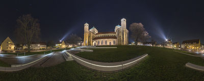 Hildesheim panorama de 360 grados Foto de archivo libre de regalías