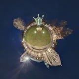 Hildesheim um panorama de 360 graus Fotos de Stock