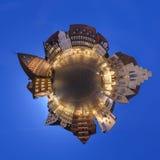 Hildesheim um panorama de 360 graus Fotos de Stock Royalty Free