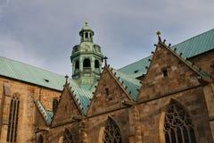 Hildesheimer Dom (Hildesheim-Kathedrale), Deutschland Lizenzfreies Stockfoto