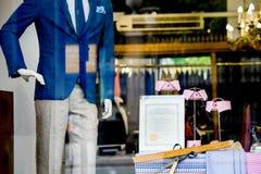 Hilditch和钥匙与证明的奢侈品商店门面 免版税库存图片