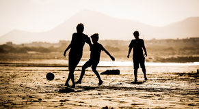 Ð¡hildren on the beach Royalty Free Stock Photography
