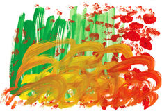 Сhildren painting background Royalty Free Stock Photos