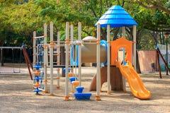 Сhildren playground Multi - Unit Stock Images