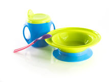 Сhildren's dishes Stock Photography