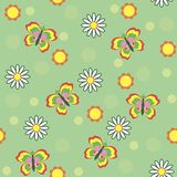 Сhildren's seamless pattern Stock Photo