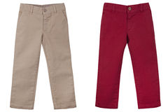 Сhildren's trousers Stock Image