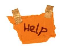 Hilfe stockbild