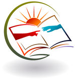 Hilfe für Bildung stock abbildung