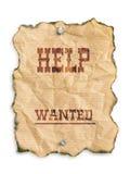 Hilfe gewünscht Lizenzfreie Stockbilder