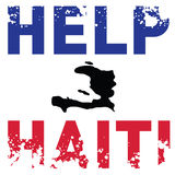Hilfe Haiti Stockfotografie