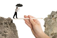 Hilfe in Ihrem Geschäft stockfoto