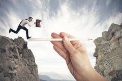 Hilfe in Ihrem Geschäft Lizenzfreies Stockfoto