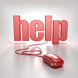 Hilfe online lizenzfreie abbildung