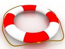 Hilfe - Schwimmweste Lizenzfreies Stockfoto
