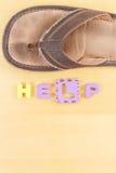 Hilfe vom Kindesmissbrauch Stockfotografie