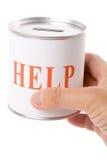 Hilfen-Kasten Lizenzfreie Stockfotografie