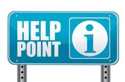 Hilfenpunkt Lizenzfreies Stockbild